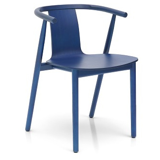 Jasper Morrison Bac Chair Shanghai Blue