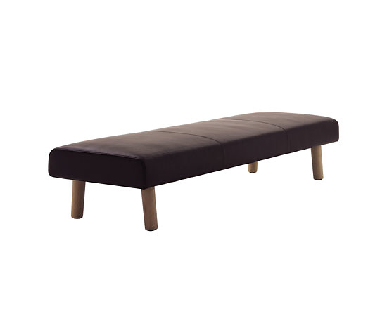 Jasper Morrison Flos Bench and Pouf