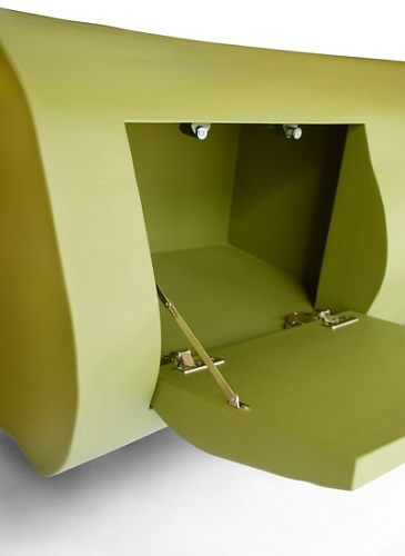 Jasper van Grootel Tree Trunk Cabinets