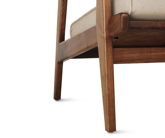 Jens Risom Jens Armchair With Footstool