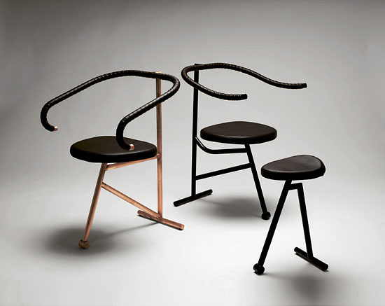 Johan Linton To The Art of Biking Chair