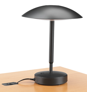 John Rizzi and Brooks Rorke Desktop Lamp:,Lighting