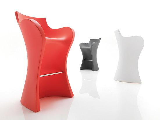 Karim Rashid Woopy Chair and Stool