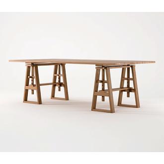 Karpenter Trestle Table