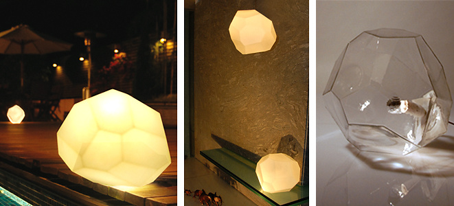 Koray Ozgen Asteroid Lamp