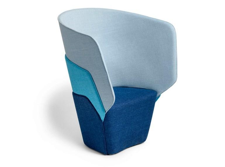L 196 Ufer Keichel Layer Easy Chair