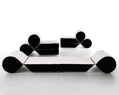 Leonardo Perugi Drop Armchair and Sofa