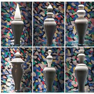 Linde Burkhardt 6 Amici Vases