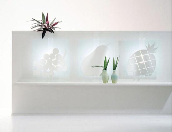Lodovico Acerbis and Claudio Platania Tutti Frutti Mirror