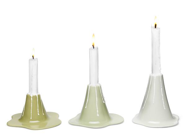 Louise Hederström Lava Candlesticks