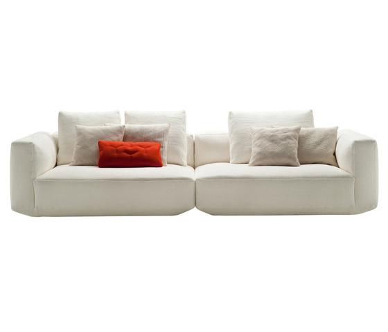 Ludovica and Roberto Palomba Pianoalto 1272-73 Modular Sofa System