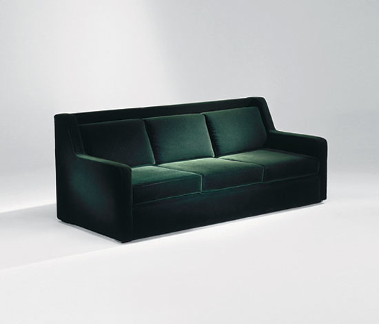 Luigi Caccia Dominioni P17 Sant' Ambrogio Sofa and Armchair