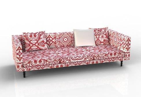 Marcel Wanders Boutique Sofa, Eyes Of Strangers