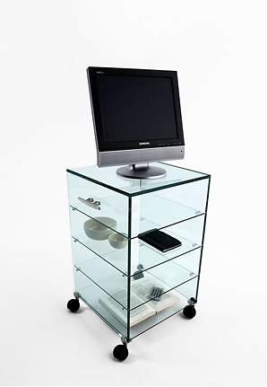 Marco Gaudenzi Altrove Glass Container