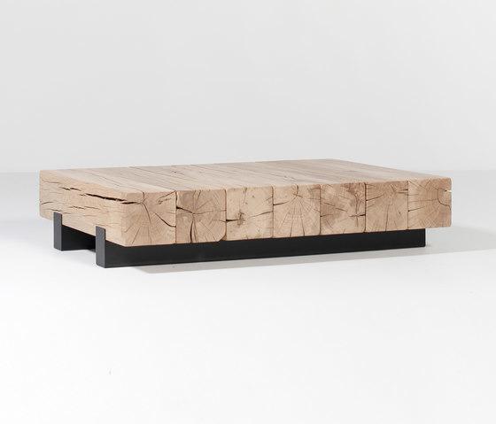 Wooden Console For Vans ~ Marlieke van rossum beam table