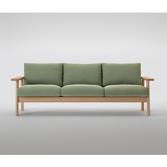 Jasper Morrison Bruno Sofa and Armchair