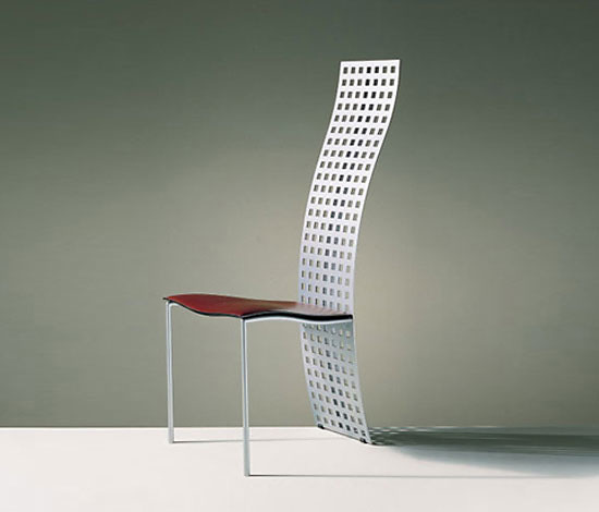 Massimo Vignelli And Lella Vignelli Serenissima Chair