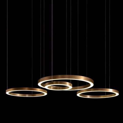 Massimo Castagna Light Ring Horizontal Lamp