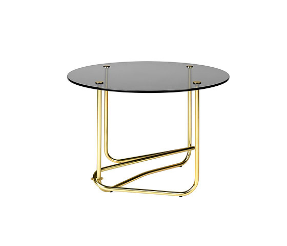 Mathieu Matégot Glass Coffee Table