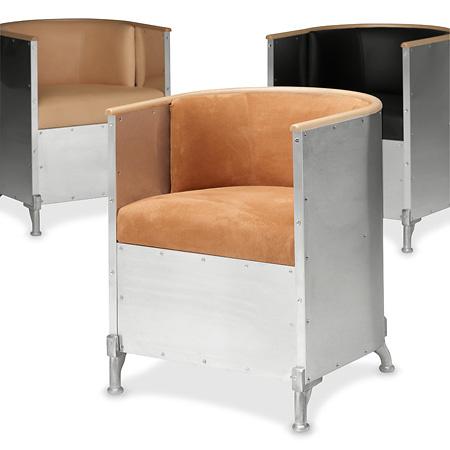 Mats Theselius Aluminium Easy Chair