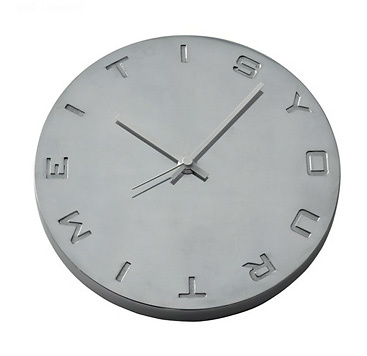 Michael Koenig Its Your Time Wall Clock