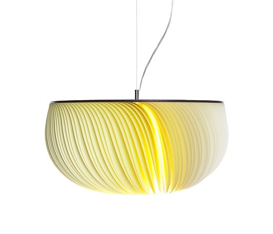Michael Römer and Anja Eder Moonjelly Lemon Pendant Lamp
