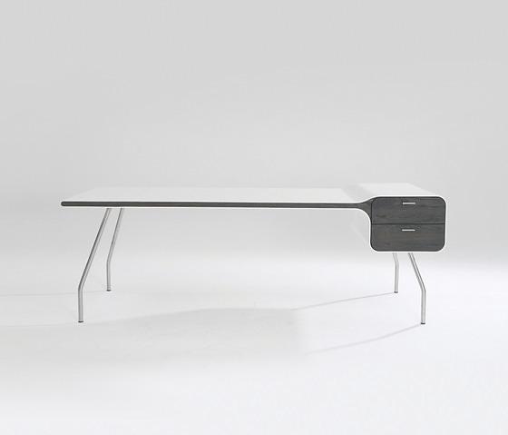 Michiel Van Der Kley I-Con Desk With Drawer