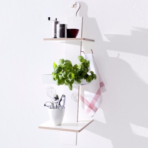 Moritz Putzier Hangup Wall Mounted Shelving