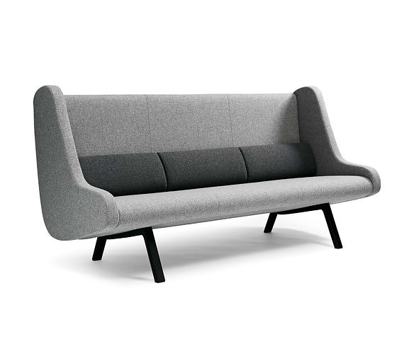 Morten Ernst and Anne-Mette Bartholin Jensen In Duplo Ej Sofa