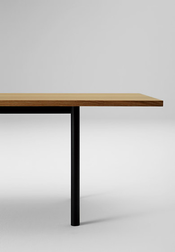 Naoto Fukasawa Malta Steel Legs Table