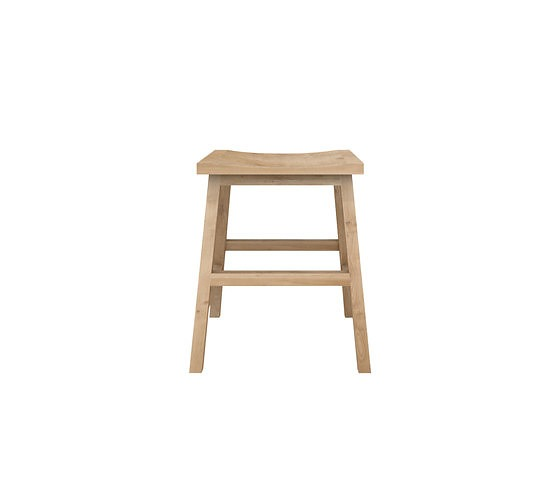 Nathan Yong Oak N-chairs Stool