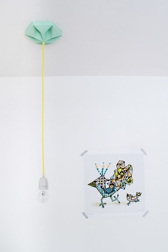 Nellianna Van Den Baard and Kenneth Veenenbos Kroonuppe Ceilingrose Lamp