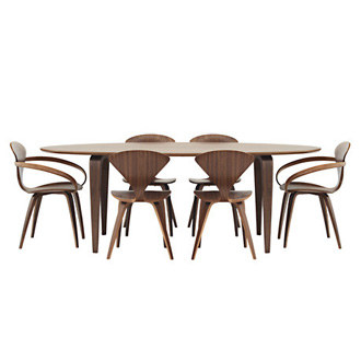 Norman Cherner Oval Table
