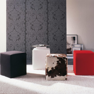 O. Moon Pouf 45 Stool