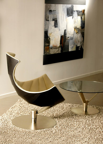 Oluf Lund and Eva Paarmann Lobster Chair