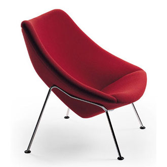 Pierre Paulin Oyster Chair