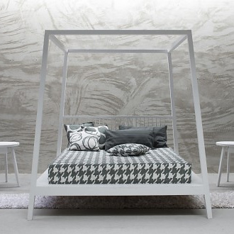 Paola Navone Gray 81 Bed
