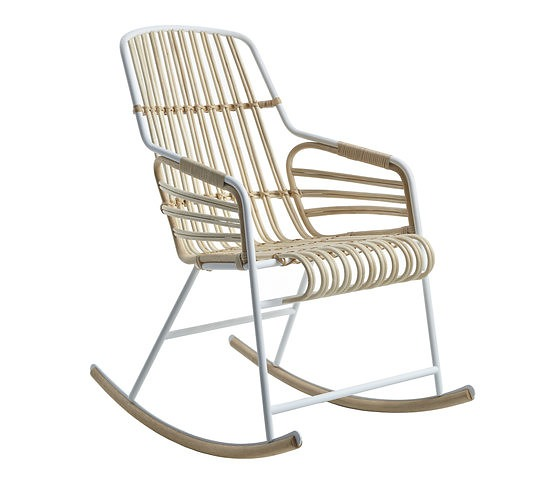Paolo Lucidi and Luca Pevere Raphia Rocking Chair