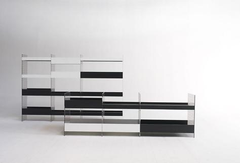 Patricia Urquiola B-side Bookcase