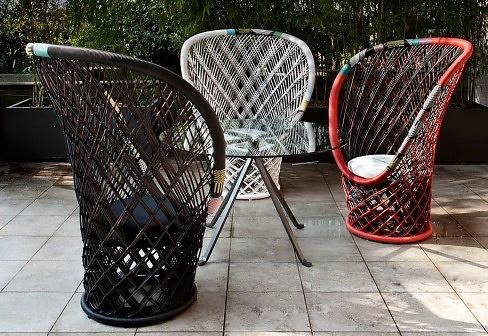 Patricia Urquiola Pavo Real Outdoor Armchair