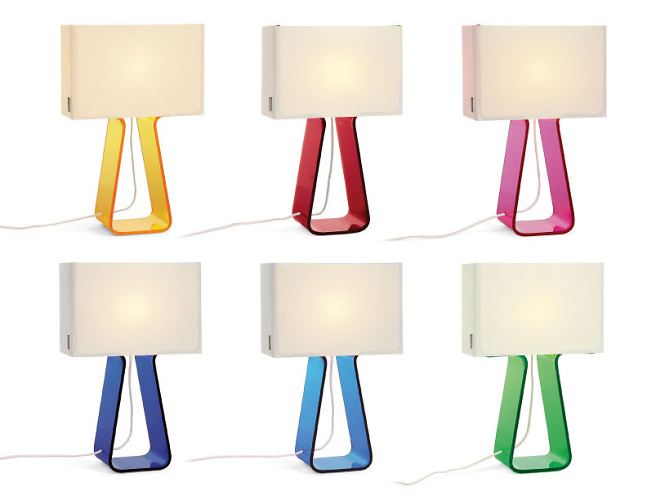 Peter Stathis Tube Top Lamp