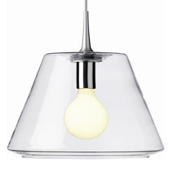 Philip Bro Ludvigsen Uc Pendant Glass Lamp