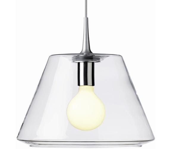 Philip Bro Ludvigsen Uc Pendant Glass Lamp