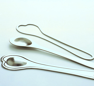 Philippe Daney Safran Salad Servers