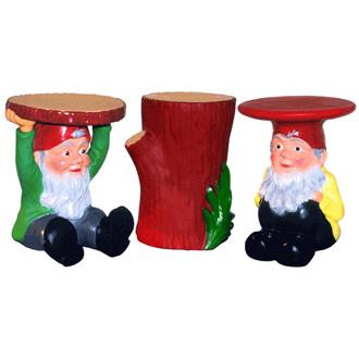 Philippe Starck Gnomes Stools