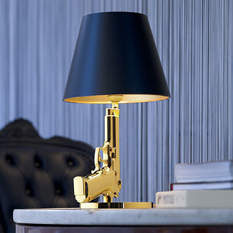 Philippe starck gun lamp - Applique lampe de chevet ...