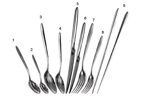 Philippe Starck Miamiam Cutlery