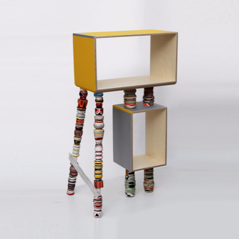 Pia Wüstenberg Processed Paper Shelf
