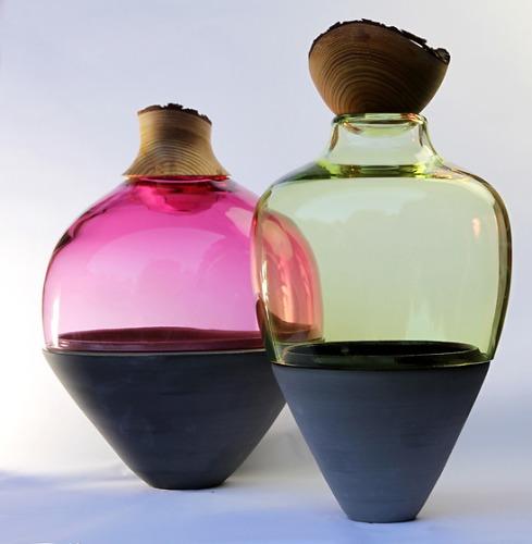 Pia Wüstenberg Transformed Stacking Vessels Vase