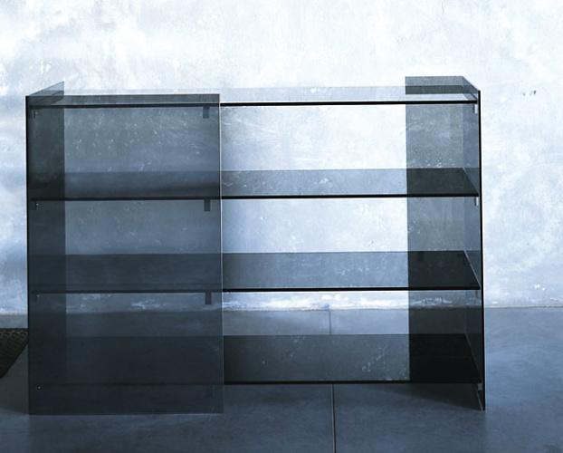 Piero Lissoni, Carlo Tamborini and Marc Krusin Surface Mobili Bookcase
